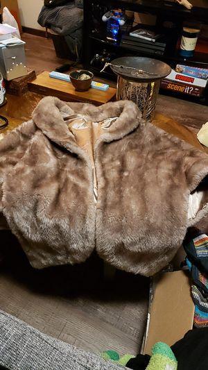 Fur Shawl for Sale in Portland, OR