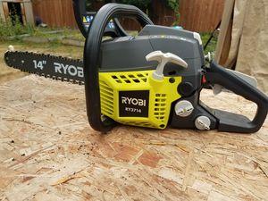 Ryobi chainsaw like new for Sale in Tacoma, WA