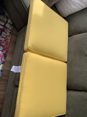 Pier One- 2 Sunbrella patio cushions- BRAND NEW!! for Sale in Maple Valley, WA