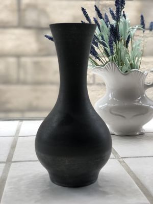 Mid Century Norway Pewter Vase for Sale in Simi Valley, CA
