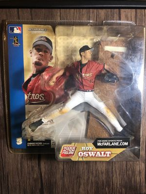 McFarlane Roy Oswalt Rookie Action Figure for Sale in Greenville, SC