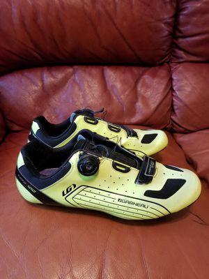 Louis Garneau carbon cicling shoes size 45 for Sale in Dallas, TX