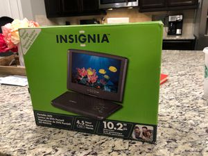 "BRAND NEW 10.2"" PORTABLE DVD PLAYER for Sale in Tomball, TX"