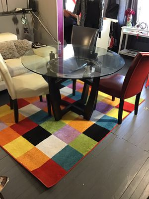 Ashley Dinette Set with free chairs (2piece table approx 45lbs) for Sale in Queens, NY