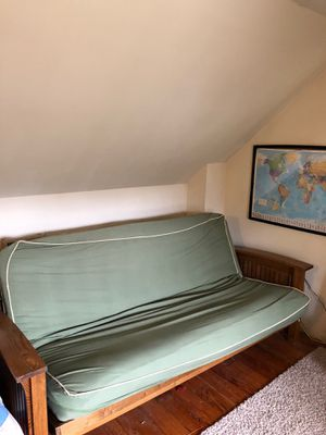 Green Futon for Sale in Richmond, VA