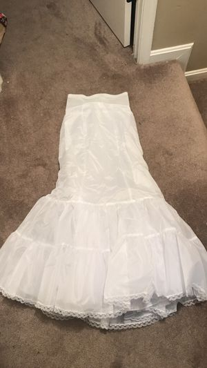 White slip like new. Perfect under wedding dress for Sale in Manassas, VA
