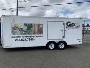 big trailer 20 ft by 8 excellent condition for Sale in Lakewood, WA