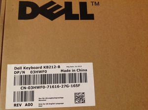 2 New Dell Keyboard KB212-B for Sale in Poulsbo, WA
