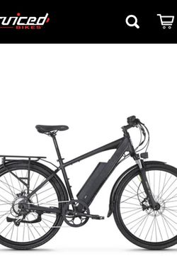 Crosscurrent Class 3 Electric Bike 48 Volt Long Range Battery for Sale in Issaquah,  WA