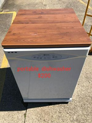 Portable maytag dishwasher with top cutting board for Sale in Amherst, OH