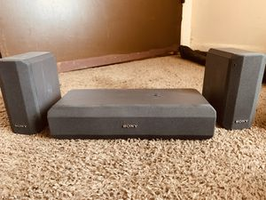 Sony Center Channel and Surround Speakers for Sale in Buffalo, NY