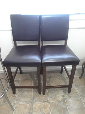 bar stools. 2 for 40, dos para 40 for Sale in Richmond, VA