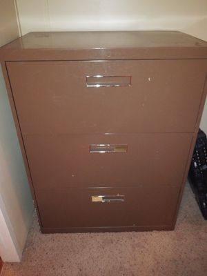 Large Professional Legal Sized Filing Cabinet for Sale in Albuquerque, NM