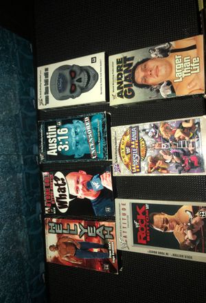 WWF WWE VHC bundle for Sale in Los Angeles, CA