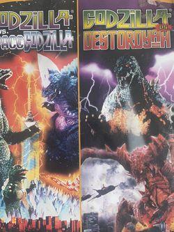 Godzilla Vs SpaceGodzilla / Godzilla Vs Destoroyah for Sale in Conroe,  TX