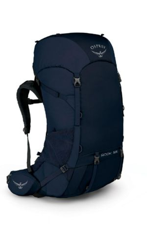 Osprey Rook 65 Trekking Backpack Thru-Hiking Midnight Blue One Size NWT for Sale in San Jose, CA