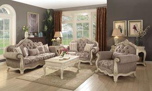 Beautiful Sofa and Loveseat- Sala de 2pc Hermosa @Elegant Furniture for Sale in Fresno, CA