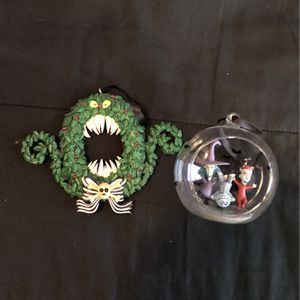 Nightmare before Christmas Disney store ornaments for Sale in Brandon, FL