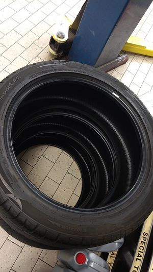 3 new tires p245/45zr18 100w for Sale in Apex, NC