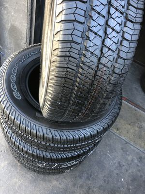 255/75R17 GoodYear Tires (4 for $340) for Sale in Whittier, CA