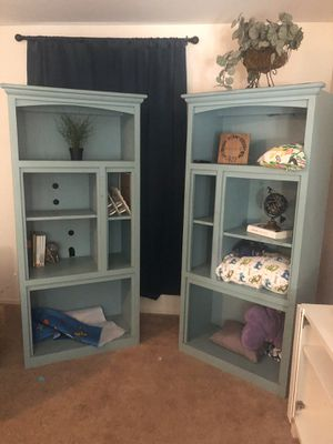 Bookshelves - pair - good condition - VERY sturdy for Sale in Gilbert, AZ