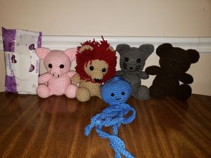 Crocheted snuggle buddies for Sale in Holiday, FL