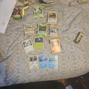 12 POKEMON CARD LOT FROM XY EVOLUTIONS AND DARKNESS ABLAZE, JAPANESE BOOSTER KIDS TOY GIFT CHRISTMAS for Sale in Queens, NY