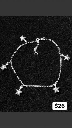 "Silver 925 ""Heart Charms Anklet"" for Sale in Long Beach, CA"