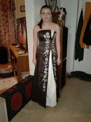 Brown& beige formal Dress for Sale in Knoxville, TN