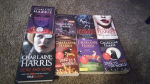 Lot of 8 Charlaine Harris Novels (sookieStackhouse) for Sale in Valrico, FL
