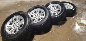 2016-18 GMC Sierra 18 inch rims and tires for Sale in Stickney, IL