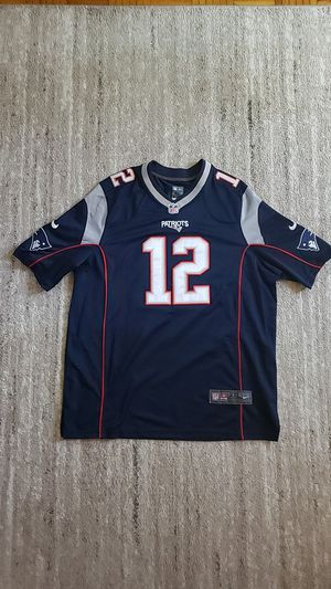 Tom Brady Authentic Patriots Jersey for Sale in Boston, MA