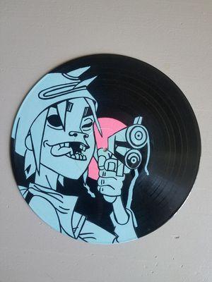 Gorillaz 2d custom vinyl record for Sale in New York, NY