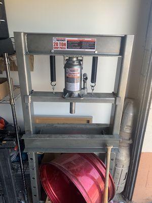 20 ton shop press for Sale in Dublin, CA