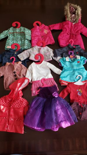 American girl outfits for Sale in Bakersfield, CA