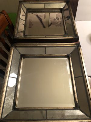 2 Uttermost Wall Hanging Mirrors for Sale in Gainesville, FL