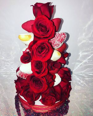 Strawberry and Roses Tower for Sale in Miami, FL
