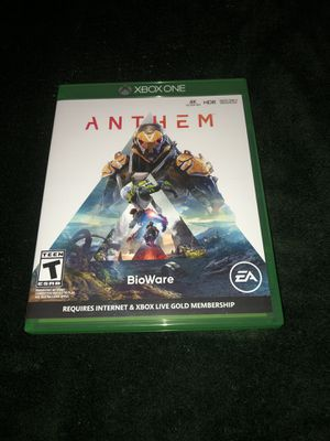 """""""ANTHEM"""" XBOX One Game for Sale in West Palm Beach, FL"""