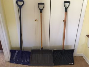 Snow shovels for Sale in Silver Spring, MD
