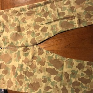 Naked & Famous Denim Camo Pants for Sale in Seattle, WA
