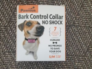Pawious Bark Collar for Dogs - Humane No Shock, Rechargeable Anti Barking Collar, No Harmful Prongs, Sound and Vibration, 7 Sensitivity Levels for Sale in Elverta, CA