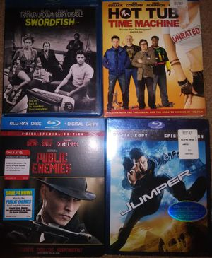 Blu-ray Movies $3 each for Sale in Riverbank, CA