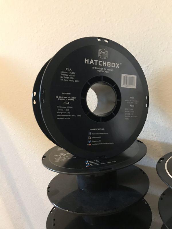 Free Empty hatchbox 3d filament spools