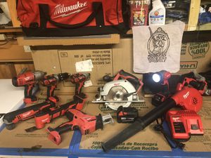 Milwaukee M18™ 9-Tool Combo Kit for Sale in San Diego, CA