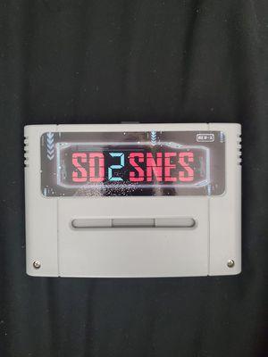 SD2SNES SNES Nintendo Flash + 16GB Card for Sale in Tustin, CA