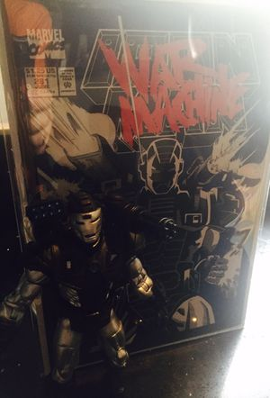 First appearance War Machine comicbook toy combo for Sale in Coral Gables, FL