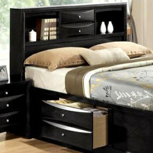 QUEEN STORAGE PLATFORM BED 🚚SAME DAY DELIVERY /ın stock for Sale in Silver Spring, MD