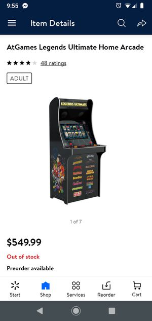 Legend Ultimate Arcade Machine for Sale in Tucson, AZ