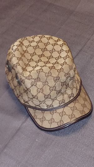 Gucci GG Canvas Military Hat for Sale in Philadelphia, PA