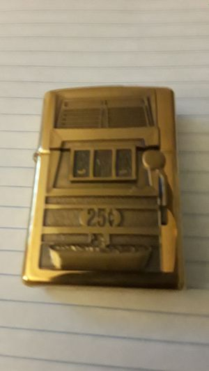 Zippo 25 Cent Craps Machine Lighter for Sale in Frederick, MD